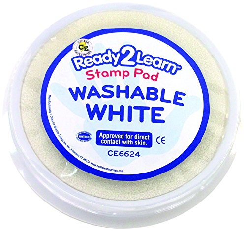 Center Enterprise CE6624 Circular Washable White Stamp Pad -