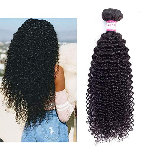 Afro Kinky Curly Hair 1/3/4 pc Natural Color 8-28inch Brazilian Hair Weave Bundles Non Remy Human Hair,14 16 18,Natural -