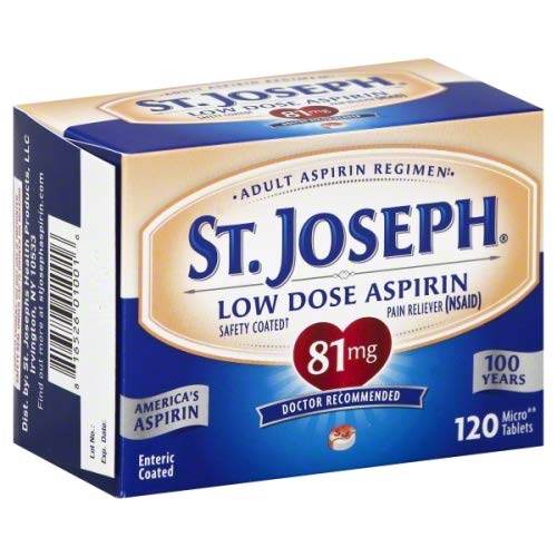 Aspirin Baby (St. Joseph Enteric Safety Coated Aspirin 81mg, 365 Count)