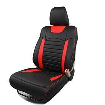 Kust Zd5082w Black Red Car Seat CoversCustom Fit Covers For Honda