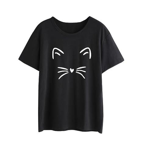 la mejor actitud estilo máximo comprar lujo Beikoard - Camiseta de manga corta para mujer, diseño casual ...