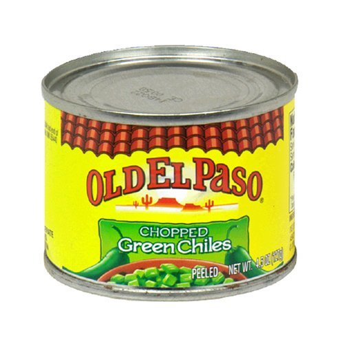 Old El Paso Chopped Green Chiles 4.5 Oz (Pack of 6) ()