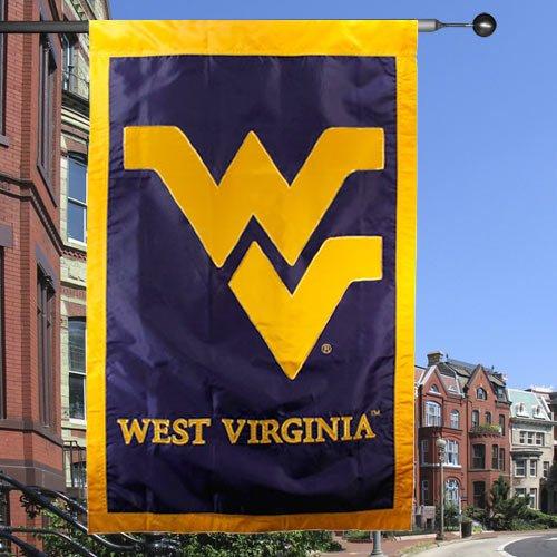 NCAA West Virginia Mountaineers Navy Blue 28'' x 44'' Team L