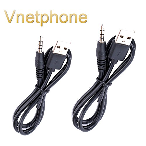 Vnetphone 2PCS V6 / V4 Charging Cable Accessory for V6 V4 1200M DSP Noise Supression Handsfree Full Duplex intercom moto bluetooth