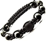 Keled Rocks Shamballa Bracelet with Shungite Stone