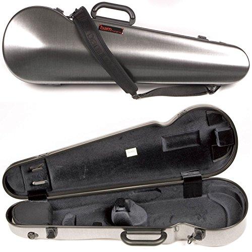 Bam France 2002XL Contoured Hightech Tweed-Look 4/4 Violin Case