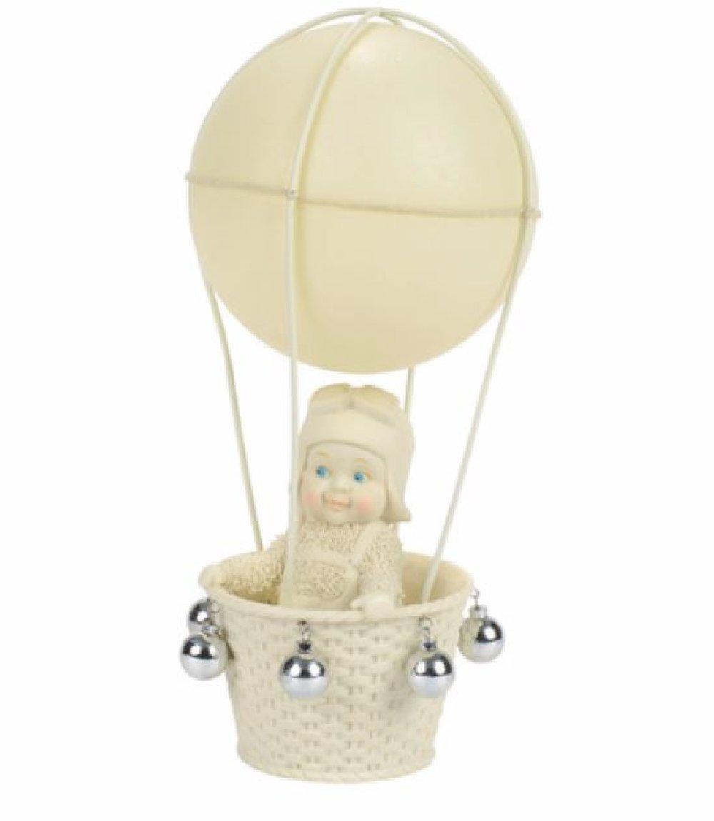 "Department 56 Snowbabies ""Air Travel"" Porcelain Figurine, 7"""