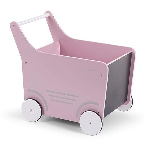 Childhome CHWODSTRP - Carrito juguetero, unisex: Amazon.es: Bebé