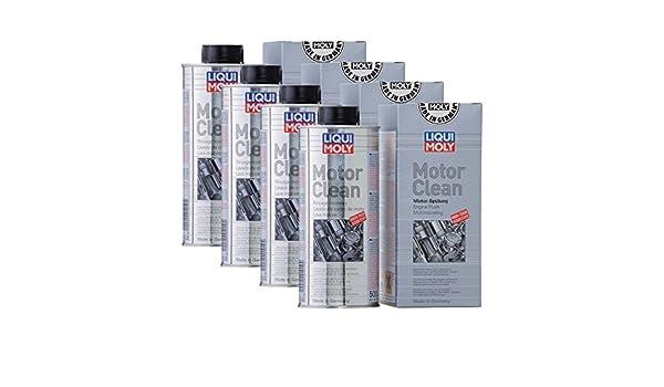 Liqui Moly 1019 - Aditivo para limpieza de motor, 500 ml, 4 unidades: Amazon.es: Coche y moto