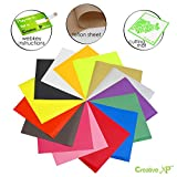 Kyпить Premium Iron on Vinyl Bundle 2.0 - 15 Heat Transfer Vinyl Sheets 12x10
