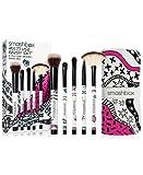 (US) Smashbox Multi-Use Brush Set (5 Full-Size Brushes + Brush Roll