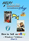 How to Sell on eBay - Windows 7 Edition (Part 2)