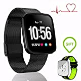 EnIceHime Smart Bracelet, Fitness Tracker with Heart Rate, IP67 Waterproof Smart Wristband Blood Oxygen Pressure Monitor, Smart Sport Watch Compatible with Android & IOS