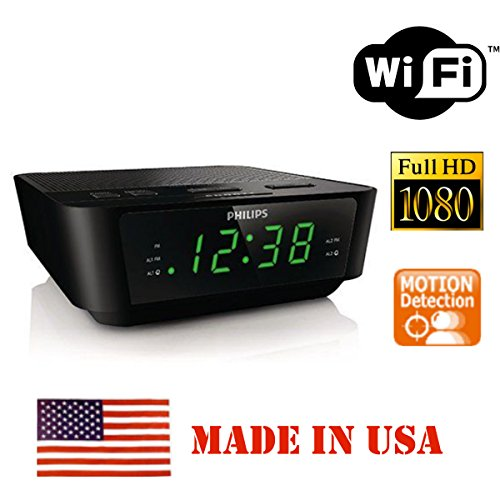 1080p hd wifi hidden spy camera alarm clock radio game beatz gamers unite. Black Bedroom Furniture Sets. Home Design Ideas