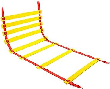 5m / 6m / 8m / 10m escalera de agilidad velocidad Escalera for adultos de los niños de fútbol entrenamiento de la velocidad, velocidad Escalera Escalera for el fútbol velocidad agilidad Equipo
