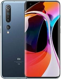 "Xiaomi Mi 10 128GB, 8GB RAM, 6.67"" DotDisplay, 108MP Quad Camera with 8K Video GSM LTE 5G Factory Unlocked Smartphone - International Version (Twilight Grey)"