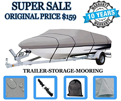 SBU BOAT COVER FITS BAYLINER 1800 CAPRI BR 1992 1993, 600 DENIER WOVEN POLYESTER - Fabric Only Sunbrella Bimini Top