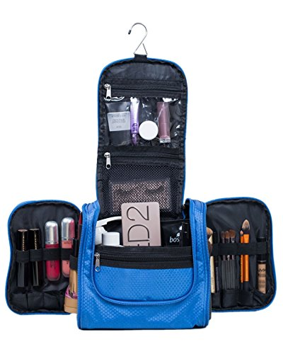 Premium Cosmetic Bag By AmElegant - Spacious Women And Men Toiletry Bag - Makeup Organizer And Beauty Product Organizer