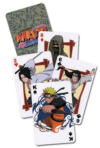 - Naruto Shippuden Playing Cards Standard