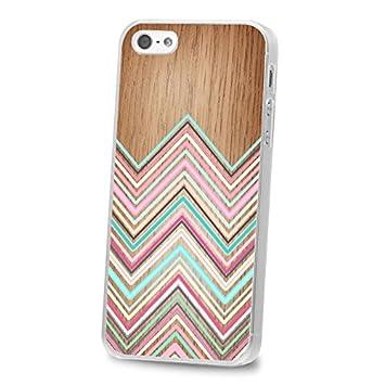 coque iphone 5 silicone bois