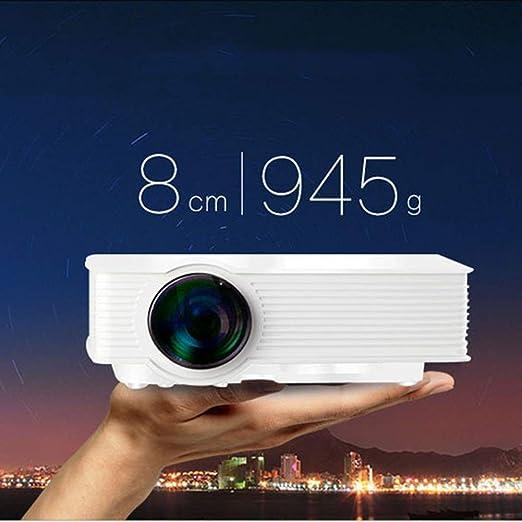 Cestbon Beamer, Mini proyector Portable LED, 2400 lúmenes ...