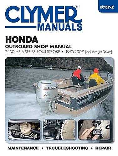 honda outboard shop manual 2 130 hp a series four stroke 1976 2007 rh amazon com GCV160 Service Manual GCV160 Service Manual