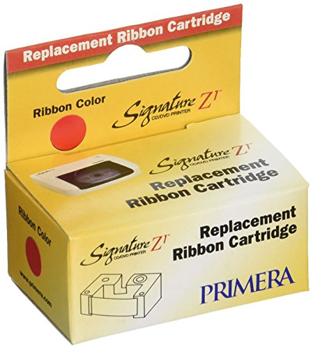 Primera 56122 Red Ribbon (12-Pack, Signature Z1 Printer)