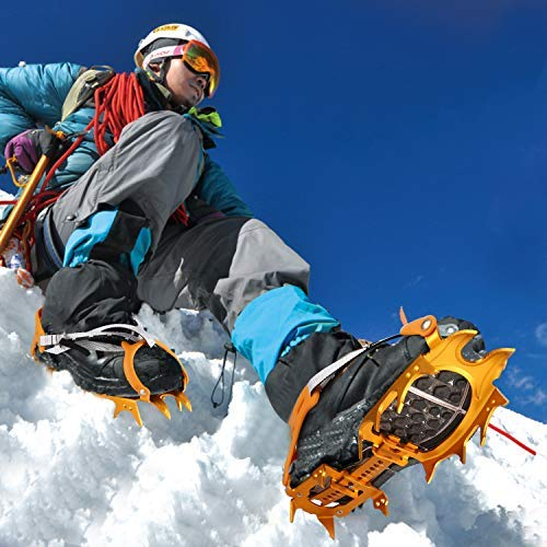 OUTAD Traction Cleats/Crampon for Snow and Ice by OUTAD