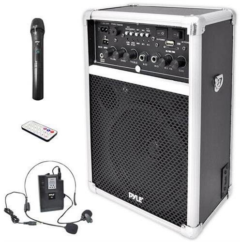 Pyle PWMA170 Dual Channel 400 Watt Wireless PA System W/USB/