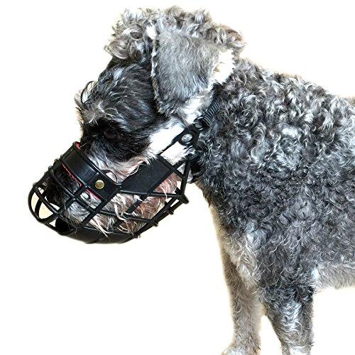 basket style dog muzzle - 4