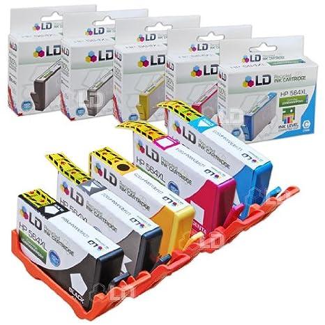 smartchip for HP 564XL Photosmart C6350 C6375 C6380 15 PK XL Ink Cartridges