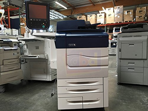 Xerox Color C60 Digital Laser Production Printer/Copier - 60ppm, Copy, Print, Scan, 4 Trays, Bypass Tray, 497K02420 Offset Catch Tray, R7B Integrated Fiery Color Server (Xerox Digital Color Copiers)