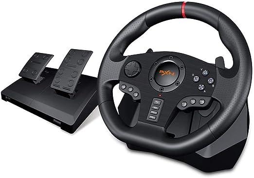 PXN V900 Gaming Volante 900 ° 270 ° Grado Gamepad Controller Racing de Videojuegos vibración para PC / PS3 / 4 / Xbox-One/Xbox 360 / N-Switc: Amazon.es: Hogar