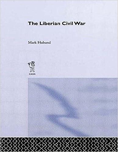 Book The Liberian Civil War 1st edition by Huband, Mark (1998)
