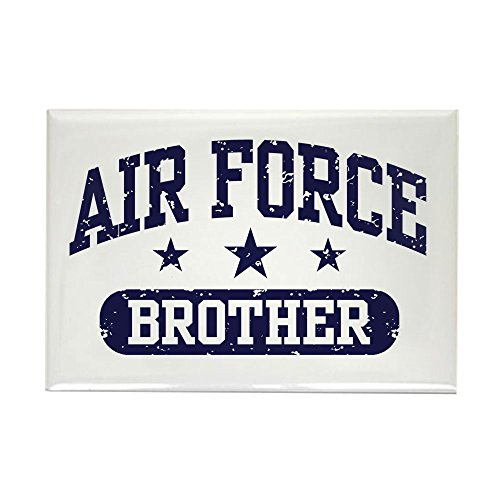 CafePress Air Force Brother Rectangle Magnet, 2