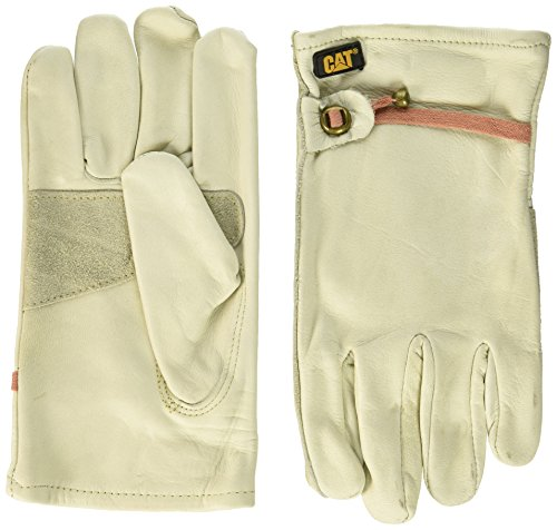 Cat Gloves Rainwear Boss Mfg CAT012110J Jumbo Leather Driver Glove (Drivers Uniform For Men)