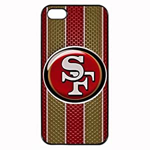 San Francisco 49ers Logo - Black Case - Custom Personlized Tpu Durable Rubber Silicone Case Cover Skin For iPhone 5 5S