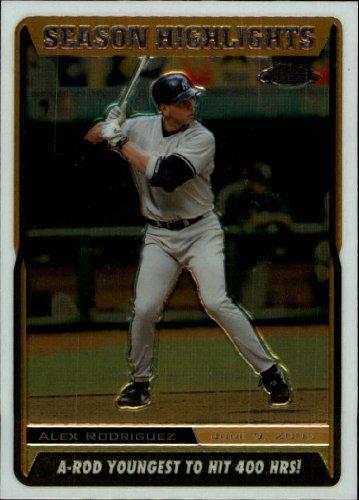 2005 Topps Chrome Update Baseball Card #219 Alex Rodriguez Near Mint/Mint