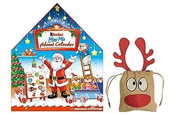 new 2018 kinder maxi mix large advent calendar 351g british christmas candy chocolate uk english - British Christmas