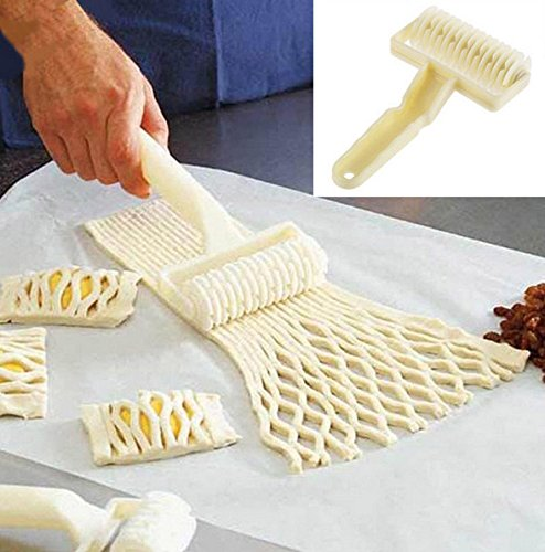 - Small Size Plastic Baking Tool Cookie Pie Pizza Pastry Lattice Roller Cutter Craft kitchen accessories