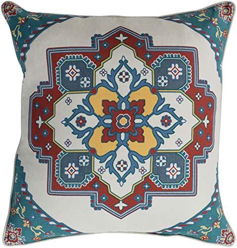 - Surya Global Accent Pillow With Khaki Finish TEC021-1818P