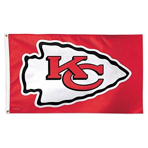 WinCraft NFL Kansas City Chiefs Deluxe Flag, 3' x 5'