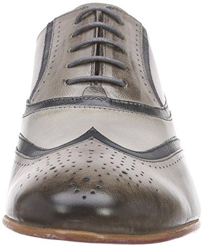 Mujer Sally 38 Cordones Oxford Melvin Gris amp;hamilton Zapatos Claro De 7UAApZ