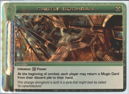 CASTLE BODHRAN Chaotic Premium Edition Season 1 Super Rare Gold Foil Card & Unused Code (Random Stats)