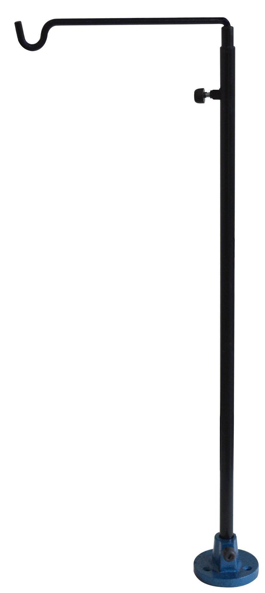 Adjustable Flex Shaft Hanger - 26'' to 41'' Jewelry Making Flexible Shaft Machine Motor Holder Bench Tool