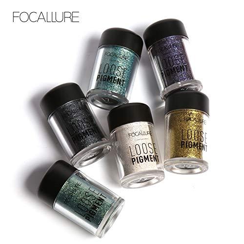 AmyDong Pearlescent Eye Shadow Powder - 4 Colors Eyeshadow Makeup Pearl Metallic Palette ()