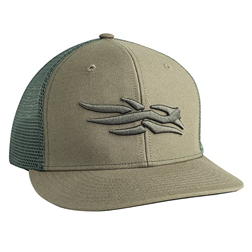SITKA Gear Flatbill Cap Forest One Size Fits All