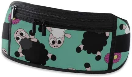 Travel Waist Pack,travel Pocket With Adjustable Belt Lazy Sheep Running Lumbar Pack For Travel Outdoor Sports Walking