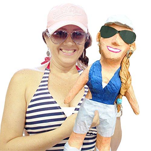 (Pinatas Medium Custom Person, Clone Anyone - Photo Prop, Decoration, Party Game, Gag Gift)