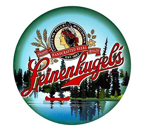 Leinenkugel's Large Round Metal Sign (35 - Leinenkugels Beer